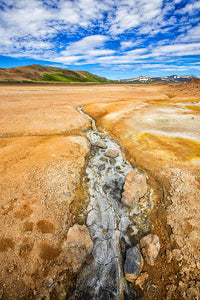 Fascinating Iceland - Geothermal Landscape Hverir - Art Print