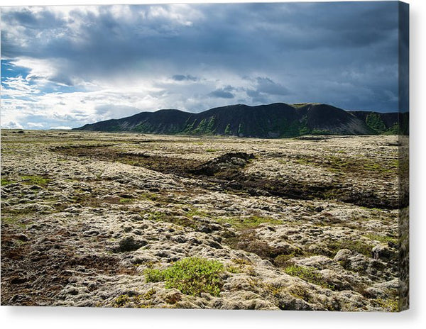 Fascinating Iceland Landscape - Canvas Print