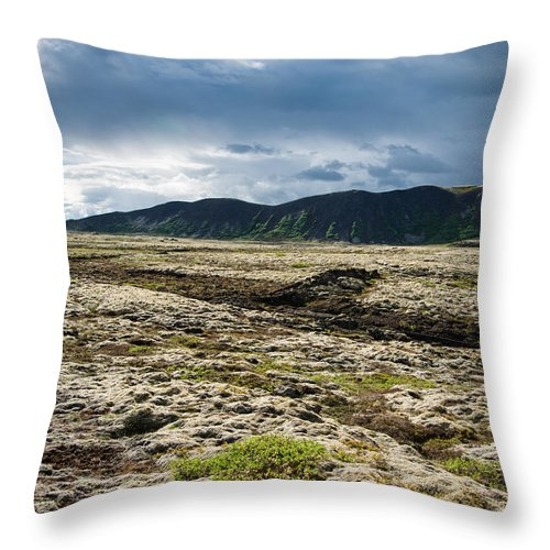 Fascinating Iceland Landscape - Throw Pillow