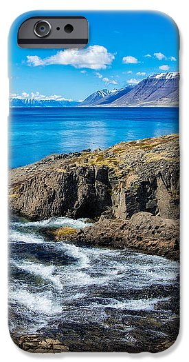 Fjord In Iceland - Phone Case
