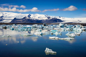 Glacier Lagoon In Iceland - Art Print