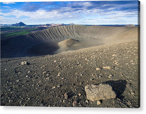 Hverfell Crater Landscape North Iceland - Acrylic Print