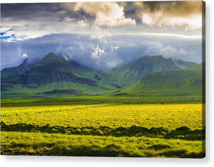 Iceland Landscape Snaefellsnes With Amazing Light - Acrylic Print