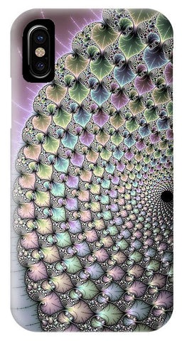 Infinity - Beautiful Mandelbrot Fractal - Phone Case