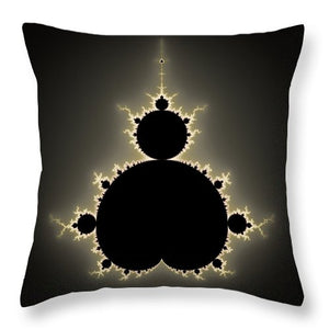 Mandelbrot Set Square Format Art - Throw Pillow