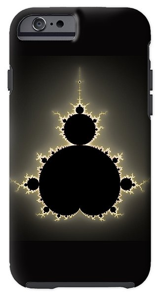 Mandelbrot Set Square Format Art - Phone Case