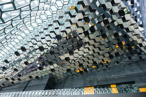 Modern Abstract Architecture Harpa Reykjavik Iceland - Art Print