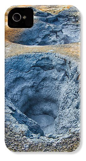 Mudpot Iceland Nature Abstract - Phone Case