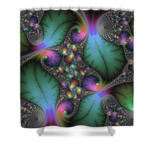 Stunning Mandelbrot Fractal - Shower Curtain