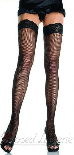 Lace Fishnet Stockings