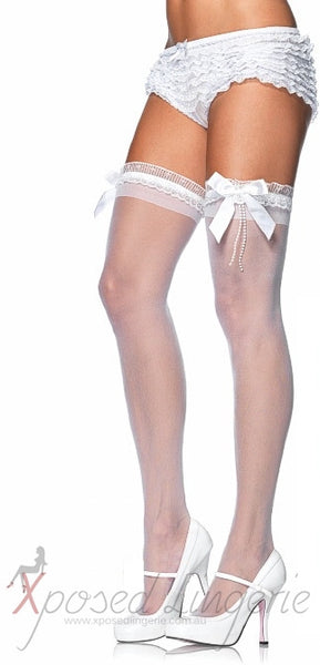 Pearl String Stockings