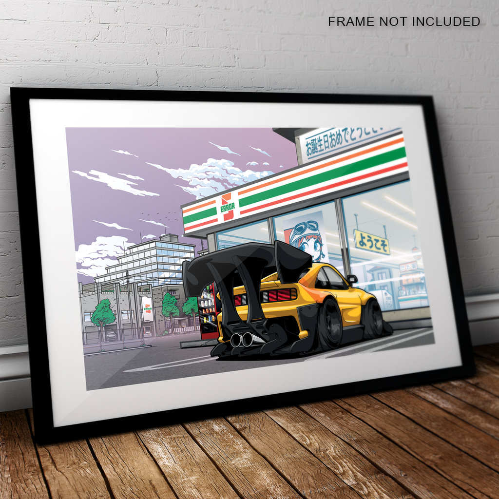 Status Error Kit Car Mart Artwork Print (A3)