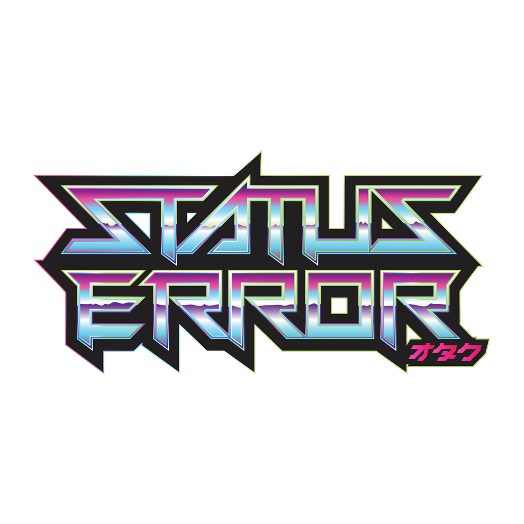 Status Error Logo Sticker (Non Reflective)
