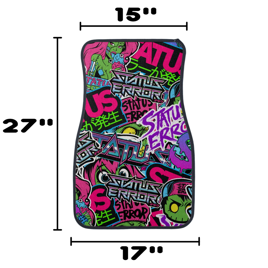 Sticker Bomb Universal Floor Mats