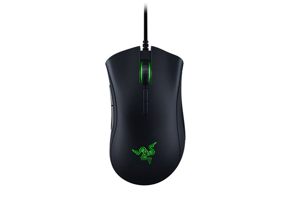 Razer DeathAdder Elite Gaming Mouse: 16,000 DPI Optical Sensor - Chroma RGB Lighting - 7 Programmable Buttons - Mechanical Switches - Rubber Side Grips - Matte Black - Cool-Hyper-Tech