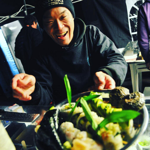 Dinings London Sushi Master Goemon at Pop Up Gatherings 2014