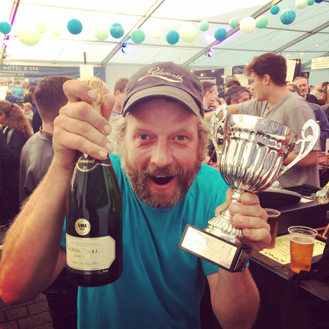Falmouth Oyster Festival Shucking Competition Champion 2017