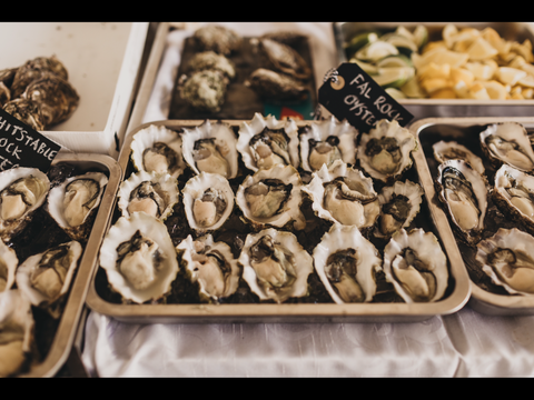 Fal Rock Oysters - photo Luke Hayden