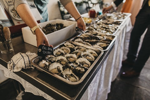 Fal Rock Oysters - Wedding Oysters - Luke Hayden