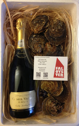 Cornish Duo - Fal Oysters & Sparkling BRUT