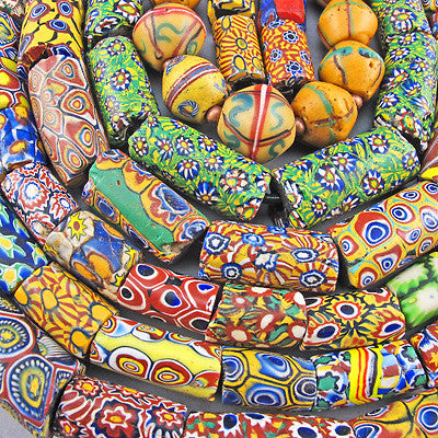 Old Millefiori Beads