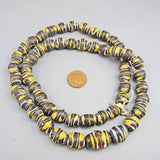 Vintage african beads strand