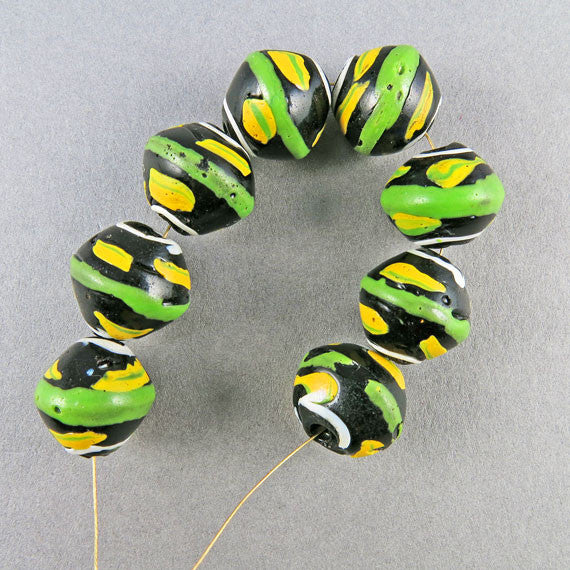 Antique african trade beads venetian glass beads old beads UK