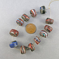 antique african trade beads 12 islamic beads old glass beads