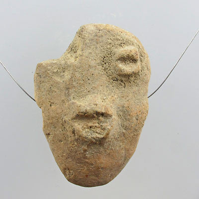 Ancient artifact sao anthropomorphic amulet