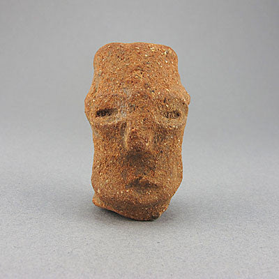 Ancient artifact nok male head