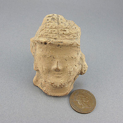 Ancient artifact greek roman head