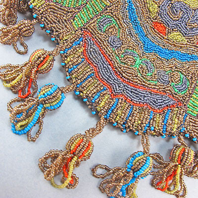 Antique Beadwork bag project