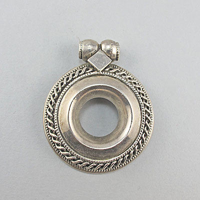 Vintage sterling silver jewellery  pendant solid