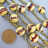 Vintage Czech Glass Beads