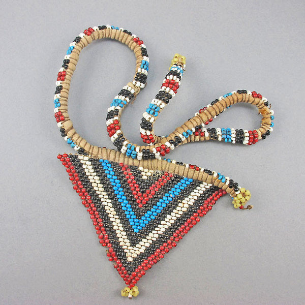 vintage african beads south african beadwork love letter