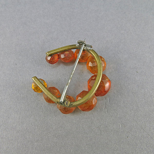 Antique Amber Brooch Baltic Amber Jewelry Antique Collectibles
