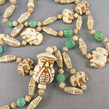 Vintage Czech Glass Beads 1920s Art Deco Beads Collectible Beads
