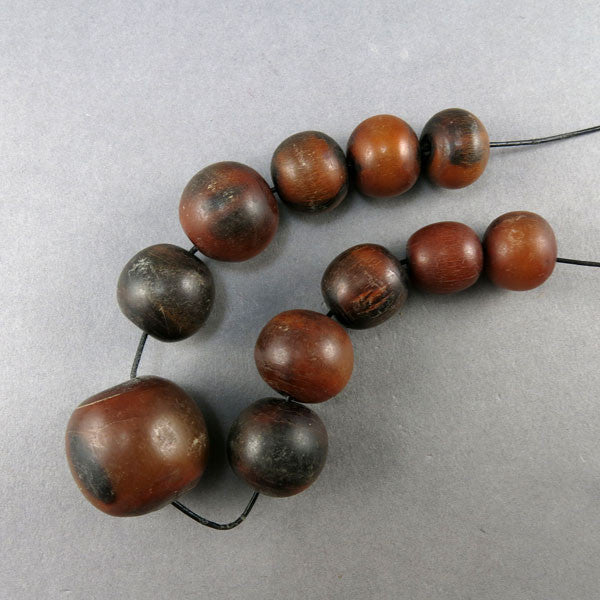 Vintage Horn Beads 11 African Trade Beads Big Beads Collectible Beads UK