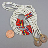 Vintage Seed Beads Necklace African
