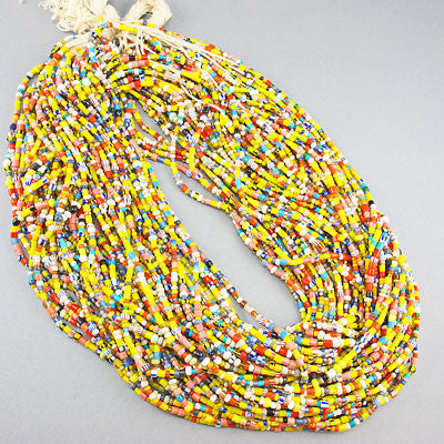 Vintage Seed Beads Strands christmas beads