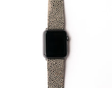 Load image into Gallery viewer, Anthracite Speckled Watch Band