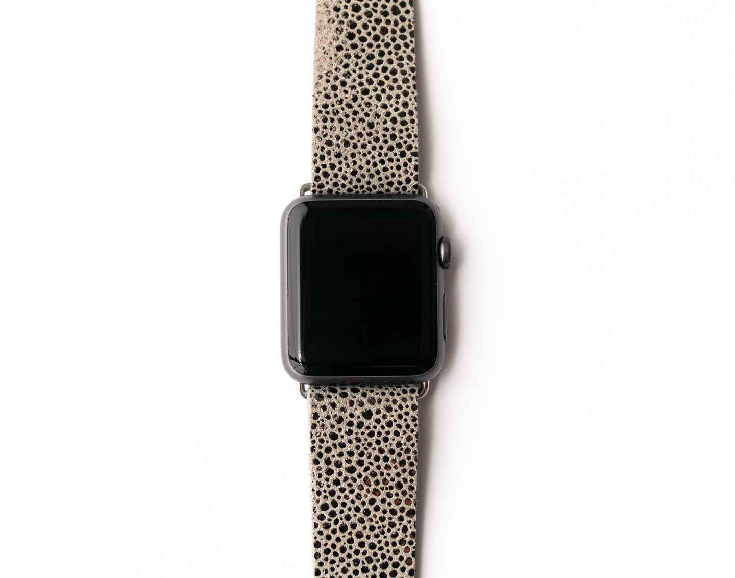 Anthracite Speckled Watch Band
