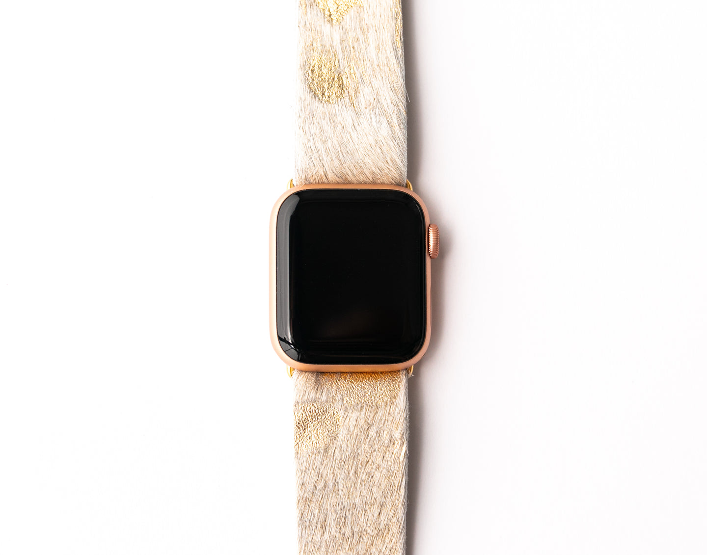 Gold Foil Watch Band