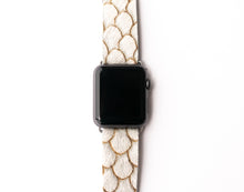 Load image into Gallery viewer, Scalloped in Taupe Watch Band