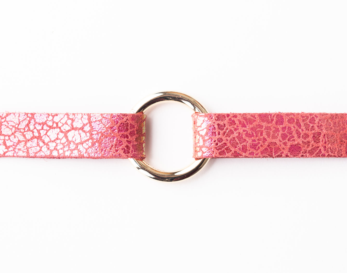 Rosé Pop Leather Bracelet