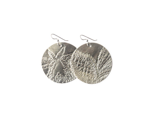 Carytown Leather Earrings