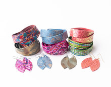 Load image into Gallery viewer, Maymont KEVA Girls Earring and Wrap Bracelet Set