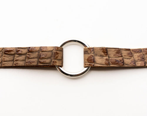 Butterscotch Leather Bracelet