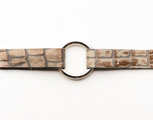 Shades of Stone Leather Bracelet