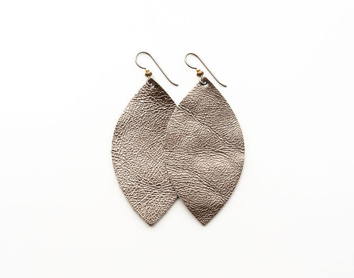Cleo Leather Earrings